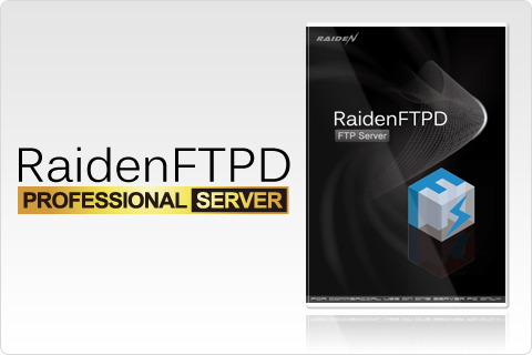 RaidenFTPD: FTP server software for Windows 7 and XP